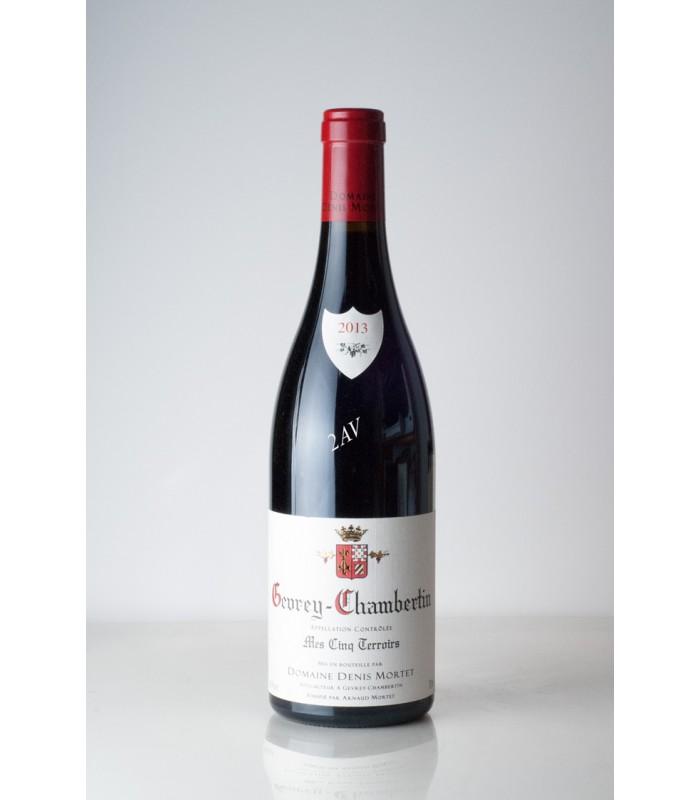domaine denis mortet 2013 vin champagne