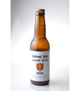 Bières Blanches Brasserie du Mont D'or bio par 6 bouteilles de 33cl