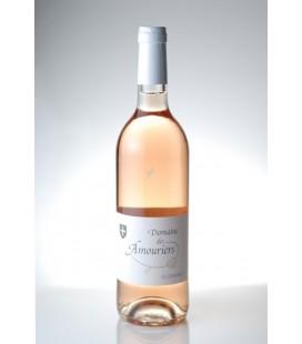"""Vin de pays (VDP) du Vaucluse """"cuvée Suzanne"""" Domaine des Amouriers Rosé 2011"""