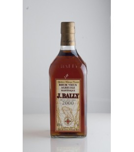 Rhum Vieux Agricole de Martinique Millésimé J.Bally 2000